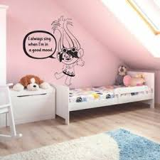 Poppy Troll Trolls Kids Cartoon Home Room Wall Sticker Vinyl Art Decals Decor Ebay