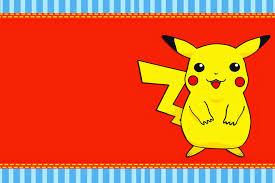 Invitaciones De Pokemon Para Imprimir Invitaciones De Pokemon