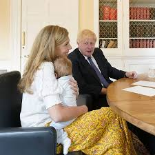 Boris Johnson christened his son Wilfred this weekend at Westminster  Cathedral