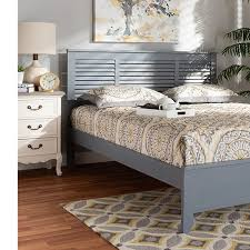 Adela Wood Twin or Full Size Platform Bed | Groupon