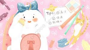 beauty skin care powder pink cute