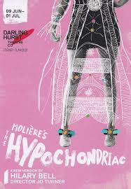 Frank McKone - Theatre Reviews and Drama Education: 2018 The Hypochondriac,  adapted by Hilary Bell