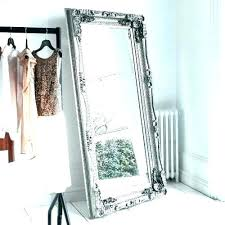 inspire q mirrored frame accent wall