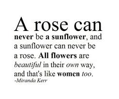 beauty like flower quotes