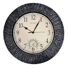 outdoor wall clock 30cm 12 indoor