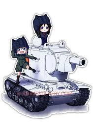 Girls Und Panzer Anime Jdm Car Window Decal Sticker 018 Anime Stickery Online