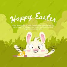 الخلفية الخضراء لعيد الفصح الأرنب مضحك حيوان فن الخلفية Png