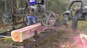 187 rsw homemade sawmill mo red cedar