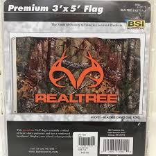 Realtree Wall Art Camouflage Deer Flag Banner 3 X 5 Nwt Poshmark