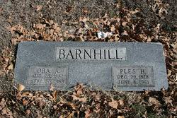 Ora Addie Carter Barnhill (1882-1963) - Find A Grave Memorial
