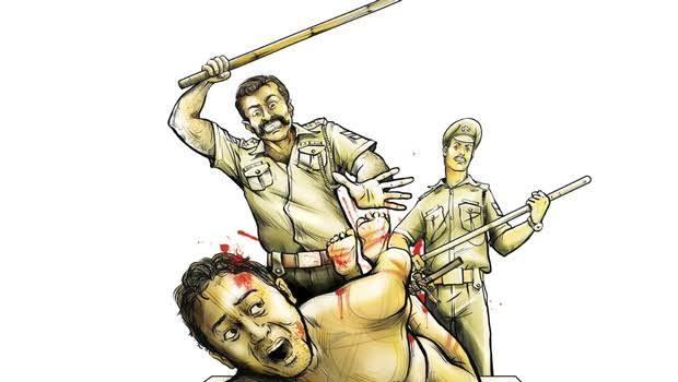 Image result for indian police cartoon""