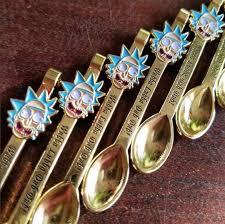mini wubba lubba dub dub spoon pendant