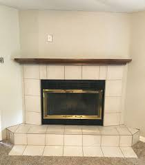 quick fireplace makeover