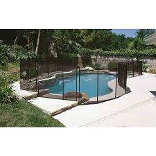 Gli In Ground Steel Pool Fencing Panel Common 12 Ft In The Pool Safety Barrier Panels Department At Lowes Com