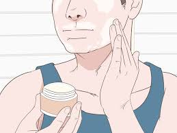 use hair removal cream on your face
