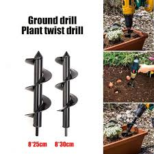 Overig Fence Post Hole Borer Auger Digger Quick Drill Planting Trees Soil Drill Earth Tuin En Terras Samsungupdated Com