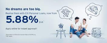 apply citibank personal loan