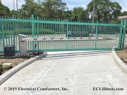 Slide Gate Controller And Long Arm Barrier Gate In Chicago
