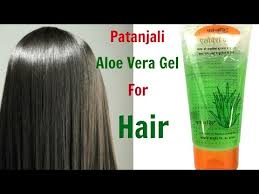 use patanjali aloe vera gel for hair