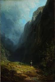 File:Carl Spitzweg - In the Alpine High Valley (Landscape with Mt.  Wendelstein) - Google Art Project.jpg - Wikimedia Commons