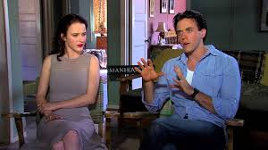 Rachel Brosnahan and Ashley Zukerman talk about Manhattan - YouTube