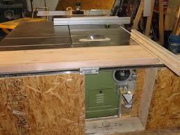 Shop Built Sliding Table For Tablesaw 5 Adding The Table To The Bt S By Todd Swartwood Lumberjocks Com Woodworking Community