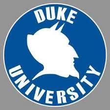 Duke University Blue Devils Round Logo 6 Vinyl Decal Bumper Sticker Ncaa Ebay