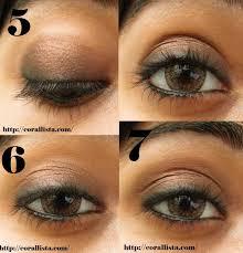 how to make a smokey eye makeup step by