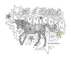 Worden Een Fucking Unicorn Volwassen Kleurplaat Van De Etsy