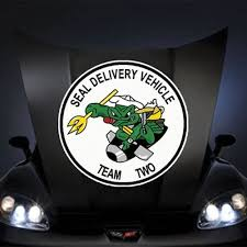 Amazon Com Us Navy Seal Delivery Vehicle Team Two Ssi 20 Huge Decal Sticker Kitchen Dining