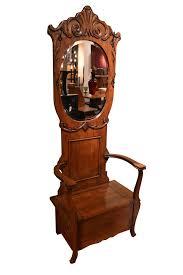 antique hall tree antique oak furniture