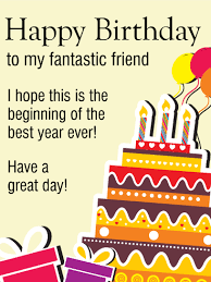 happy birthday wishes for best friend greeting cards