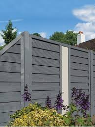 Palermo Screen Solid Contemporary Fence Free Delivery To Most Uk