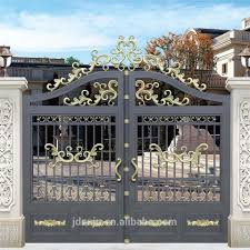 Simple Decorative Swing Sliding Philippines Gates And Fences Factory Wrought Iron Main Fence Design Modern Iron Gate Designs Iron Gate Design