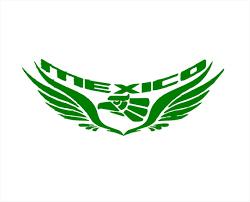 Mexico Eagle Wings Graphic Decal Mexican Aztec Hecho En Mexico Etsy