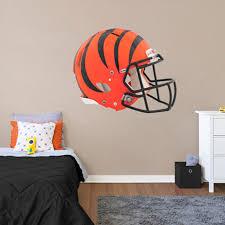 Fathead Cincinnati Bengals Giant Removable Helmet Wall Decal