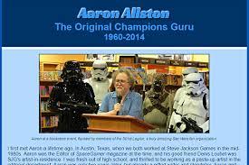Remembering Aaron Allston | webdevjeff