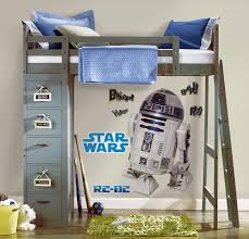 Roommates Star Wars Classic R2 D2 Peel And Stick Giant Wall Decal Decorative Wall Appliques Amazon Com