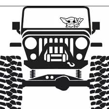 Baby Yoda Jeep Decal Ebay In 2020 Jeep Decals Jeep Wrangler Stickers Jeep Wrangler Accessories