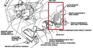 honda acura airbag code 8 1 and or 8 5
