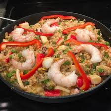 Authentic Seafood Paella Recipe ...
