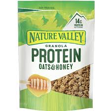 protein oats honey nature valley