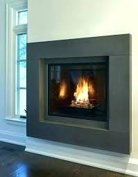 appealing metal fireplace surround