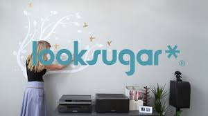 Wall Decals How To Install Oversized Wall Decal In Multiple Pieces Looksugar Youtube