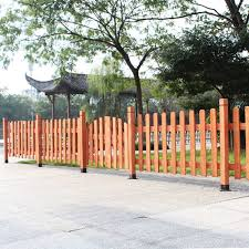 enclosure bamboo fence garden courtyard