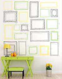 21 Various Picture Frames Vinyl Wall Decal Sticker 6055 Stickerbrand