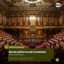 Rai5 - Dall'Aula del Senato della Repubblica, oggi alle...