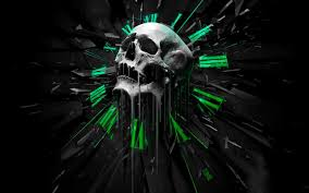 skull hd pictures for your smartphone