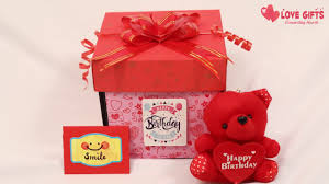 love explosion gift box in india