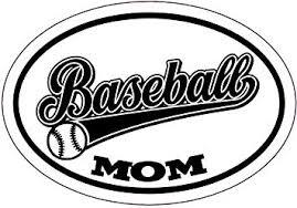 Amazon Com Wickedgoodz Baseball Mom Decal Youth Sports Bumper Sticker Baseball Mom Or Coach Gift Automotive